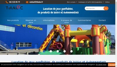 Site internet de Tikaloc