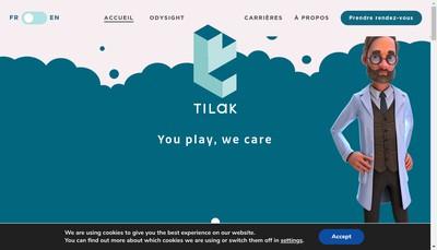 Site internet de Tilak Healthcare
