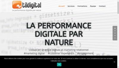 Site internet de Tildigital