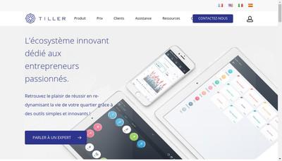 Site internet de Tiller Systems