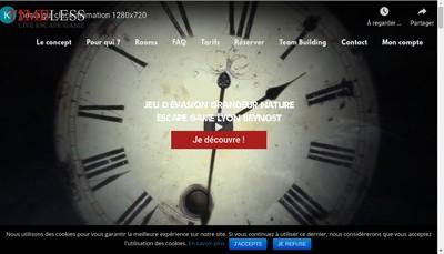 Site internet de Timeless