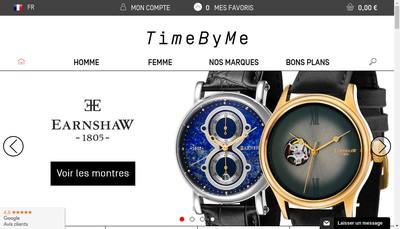 Site internet de Timebyme