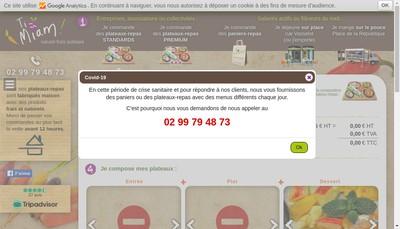 Site internet de Ti Miam