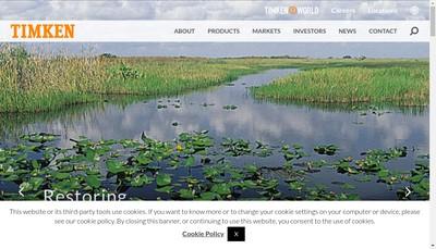 Site internet de The Timken Company