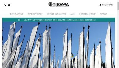 Site internet de Tirawa Com