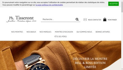 Site internet de Ph Tisseront Amandine SAS