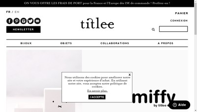 Site internet de Titlee