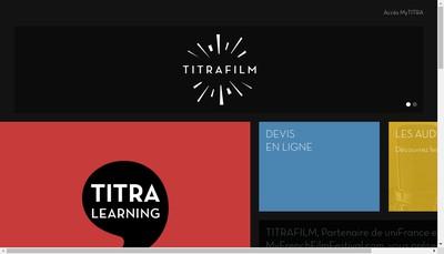 Site internet de Titra Studios