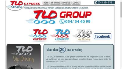 Site internet de Tld Express