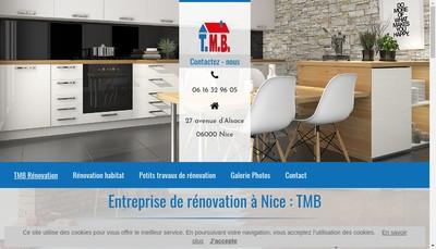 Site internet de TMB