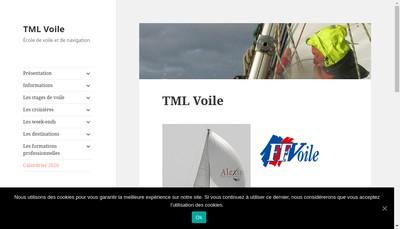 Site internet de Association Trans Mer