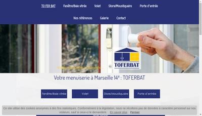 Site internet de Toutes Fermetures de Batiment