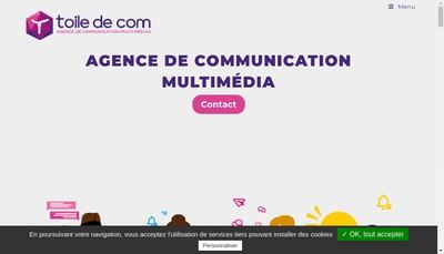 Site internet de Toile de Com'