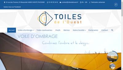 Site internet de Toiles de l'Ouest
