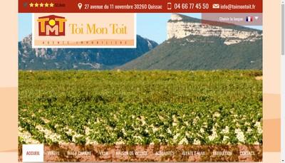 Site internet de Toi Mon Toit