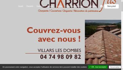Site internet de Societe Charrion