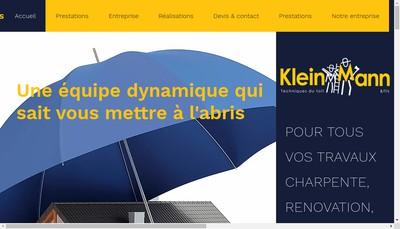 Site internet de Baumann SARL Etablissements Martin Kleinmann