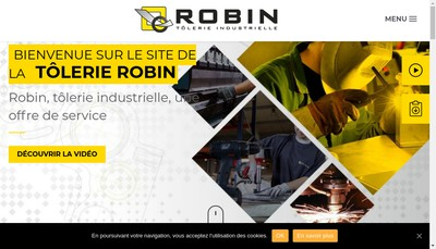 Site internet de Robin
