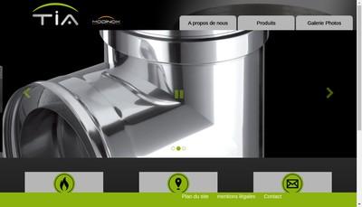 Site internet de Tolerie Industrielle des Alpes
