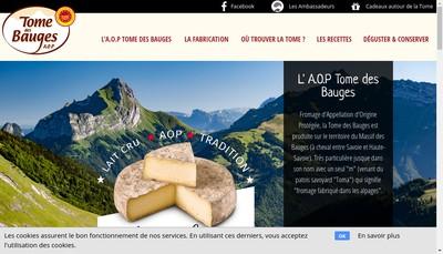 Site internet de La Cremerie des Savoie
