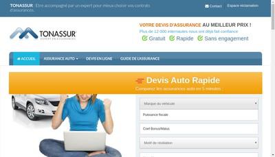 Site internet de Tonassur