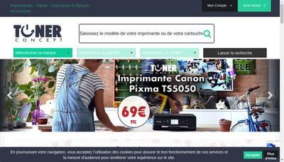 Site internet de Lyon Cartouches Lyon Toners