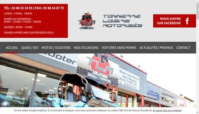 Site internet de SARL Tlm