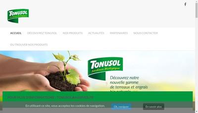 Site internet de Agriver - Tonusol