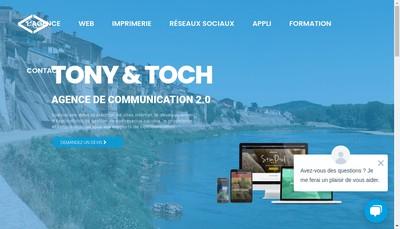 Site internet de Tony & Toch