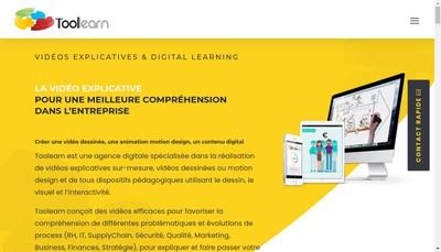 Site internet de Toolearn