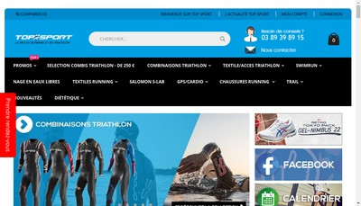 Site internet de Top Sport
