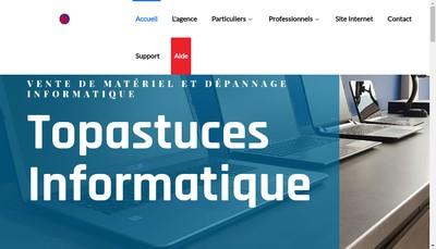 Site internet de Topastuces Informatiques