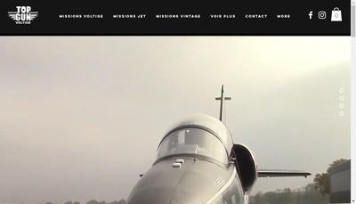 Site internet de Sensation Voltige