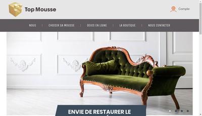 Site internet de Topmousse