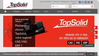 Site internet de Topsolid