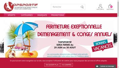 Site internet de Medical Textile Ariegeois