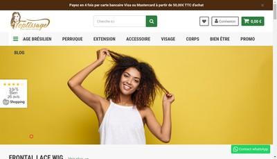 Site internet de Fashion Attitude