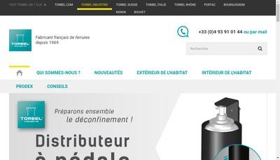 Site internet de Tb Industrie