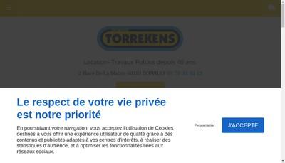 Site internet de Societe des Etablissements Torrekens