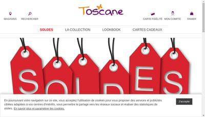 Site internet de Toscane