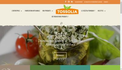 Site internet de Tossolia