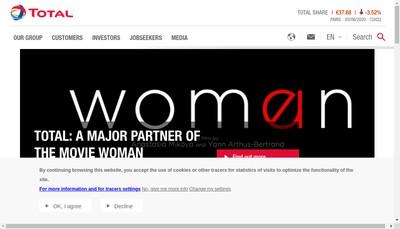 Site internet de Total Marketing Services