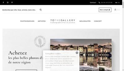 Site internet de Tothegallery
