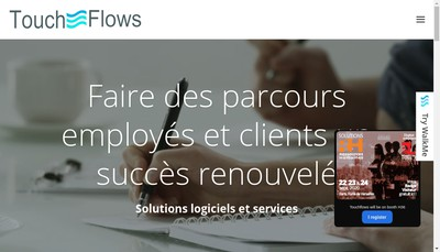 Site internet de Touchflows
