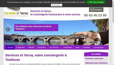 Site internet de Toulouse Conciergerie