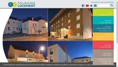 Site internet de Touraine Logement ESH
