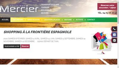 Site internet de Societe Mercier