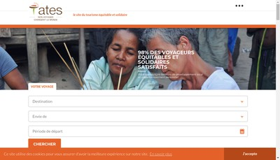 Site internet de Association Tourisme Equitable Solidaire