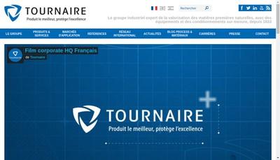 Site internet de Tournaire Plastic