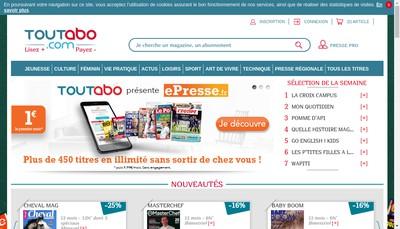Site internet de Toutabo Toutabo Fr Toutabo Com